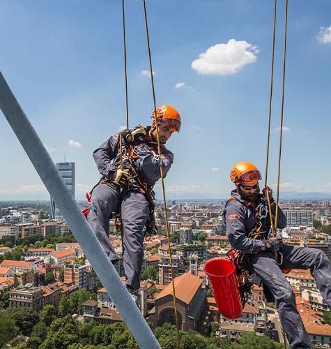 Услуги промышленного альпинизма в Пензе