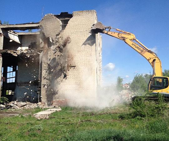 Демонтаж зданий в Пензе и Пензенской области